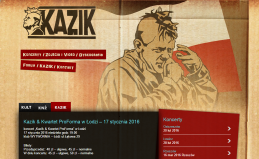Strona internetowa KAZIKA