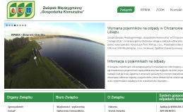 """Witryna Związku Międzygminnego """"Gospodarka Komunalna"""""""
