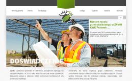 Strona internetowa spółki Carbo-Eco