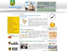 Strona Urzędu Miasta w Jaworzynie Śląskiej