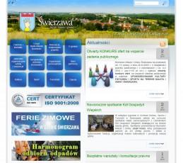 Strona Urzędu Miasta i Gminy Świerzawa