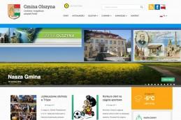 Strona internetowa Gminy Olszyna