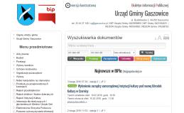 BIP Gmina Gaszowice