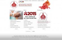 Strona internetowa Zakonu Szpitalnego Św. Jana Bożego
