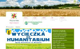 Strona internetowa Urzędu Gminy Wisznia Mała