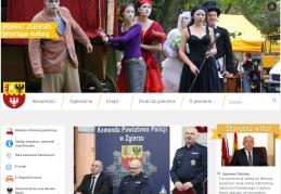 Strona Starostwa Powiatowego w Zgierzu