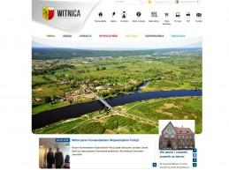 Strona internetowa Urzędu Miasta Witnica