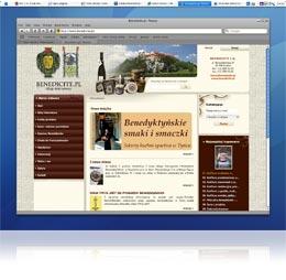 VelaCMS - CMS (Content Management System), produkty benedyktyńskie