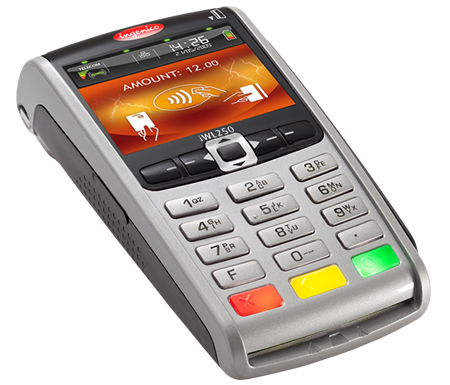 Paytel Ingenico iWL250 Mobile payment terminal