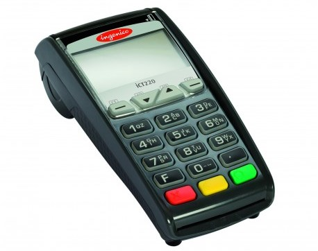 Paytel   Ingenico iCT220 -stationary payment terminal