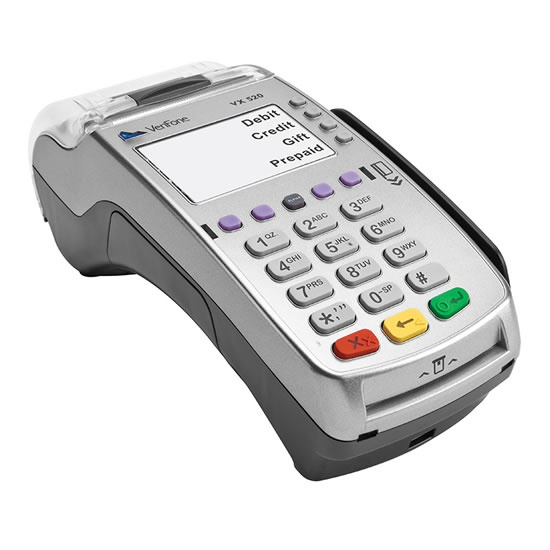 Stationary payment terminal Paytel Verifone VX - fast transactions and easy maintenance