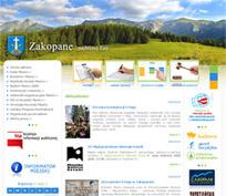 strona miasta Zakopane