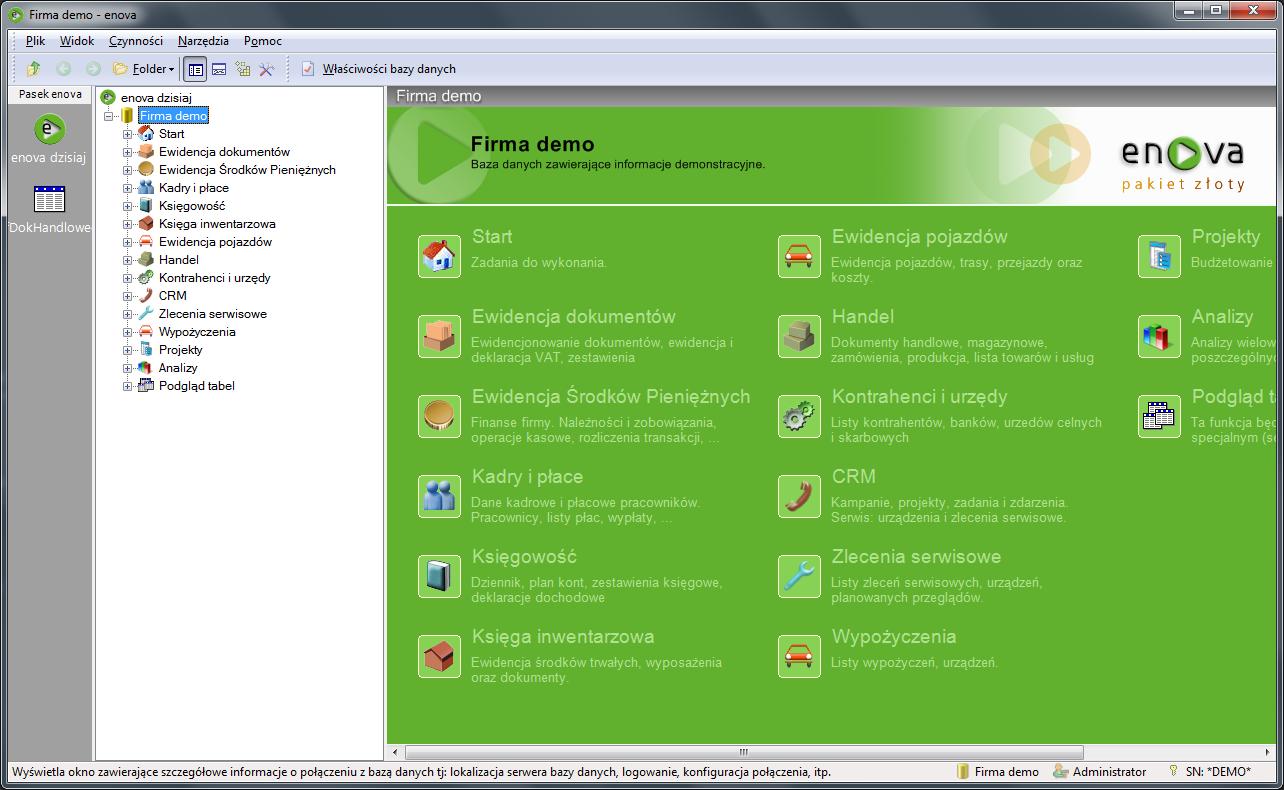 enova365 System ERP