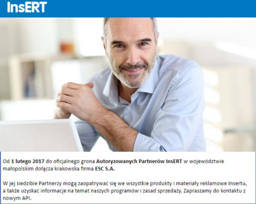 Współpraca z InsERT SA