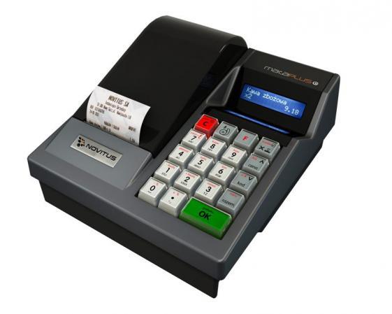 Niezawodna kasa fiskalna NOVITUS MAŁA PLUS E tylko teraz 1 200,00 zł brutto !!!