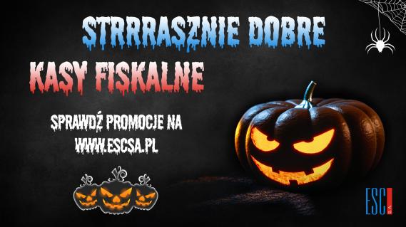 Halloweenowa promocja w sklepie ESC