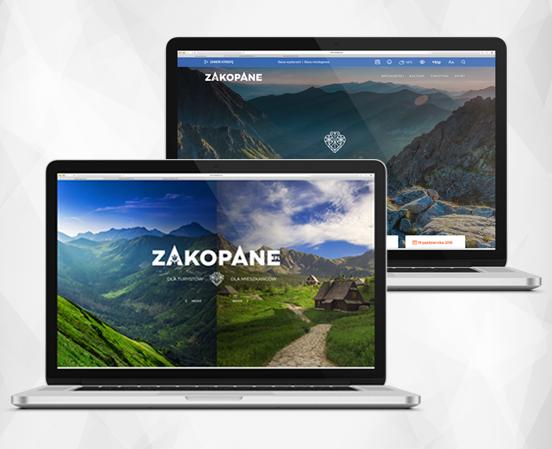 ESC SA - projekt nowa strona Zakopane pl