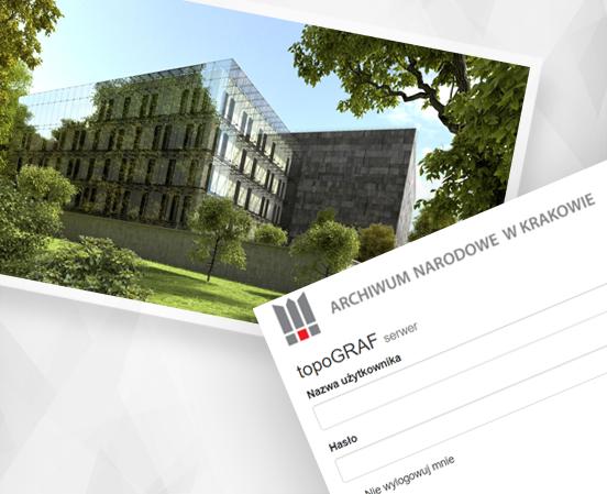 Archiwum Narodowe w Krakowie - aplikacja internetowa VelArch