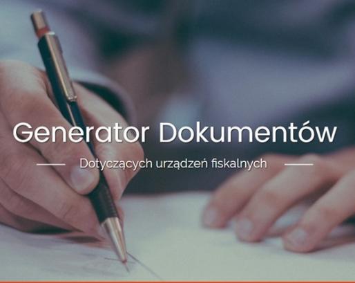 Już jest! Generator formularzy fiskalnych
