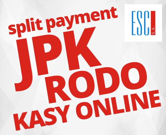 2018 - JPK, RODO, split payment, kasy fiskalne online
