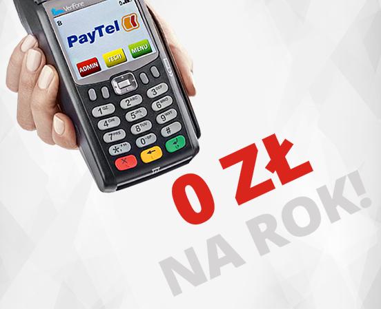 Terminal PayTel za darmo na rok - Polska Bezgotowkowa