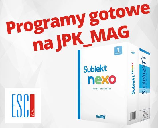 JPK MAG Programy do obsługi i generowania JPK