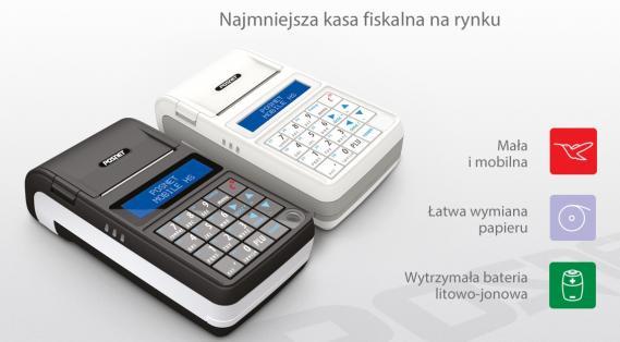 Najbardziej mobilna kasa fiskalna POSNET MOBILE HS EJ najtaniej w Krakowie !!!